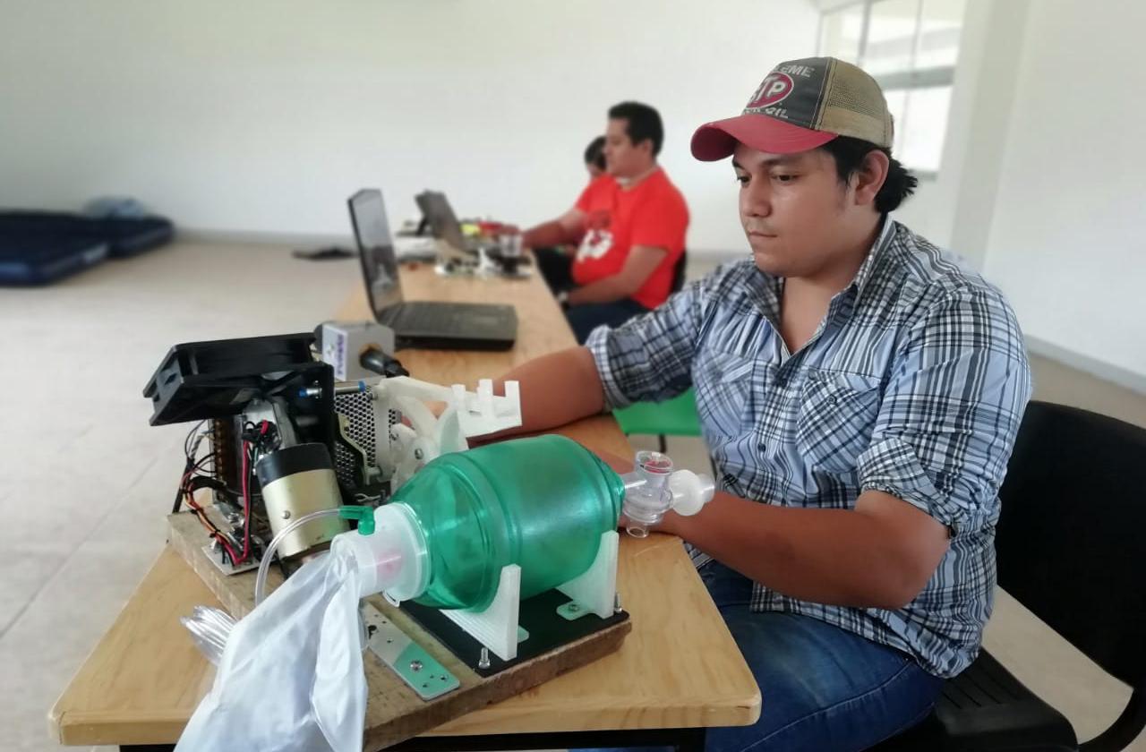 Estudiantes del ITESCO logran desarrollar respirador