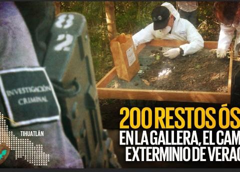 Hallan 200 restos óseos en La Gallera, el campo de exterminio