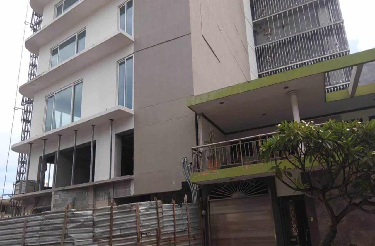Construcción de Torre Centro deja vivienda afectada; piden reubicación