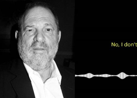Revelan terrorífico audio del director Harvey Weinstein