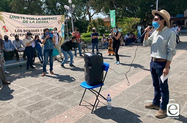 Peligra abasto de agua a Coatepec y Xalapa por disputa en Sierra Alta