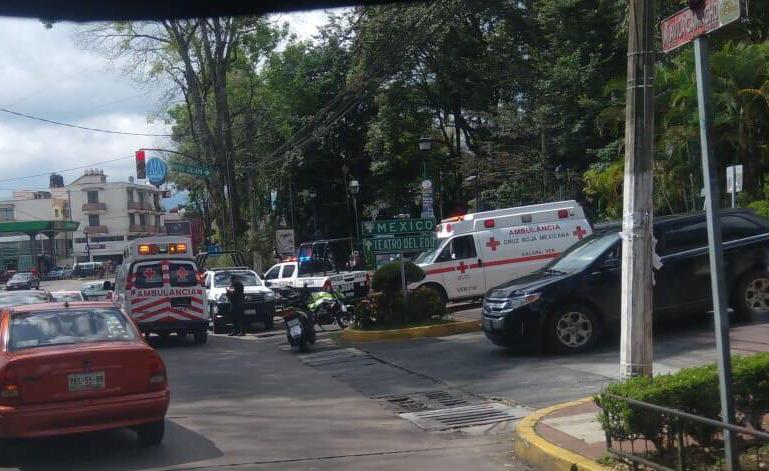 Fuerte riña al exterior de Los Tecajetes, en Xalapa