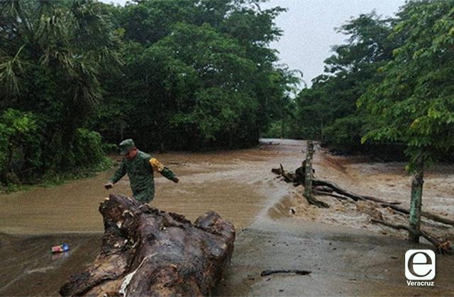 Ríos sureños podrían desbordarse por lluvias: CONAGUA