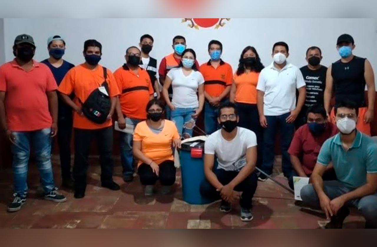 Roban a Escuadrón Nacional de Rescate en Teocelo