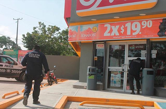 En 2020 robaron 40 tiendas de OXXO, en Las Choapas