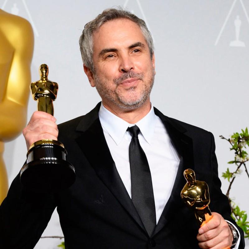 Roma se lleva tres Óscar; Cuarón hace historia