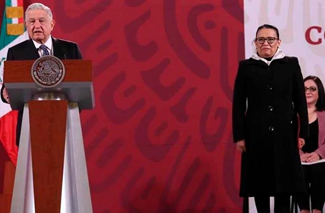 AMLO felicita a Rosa Icela, nueva secretaria de Seguridad