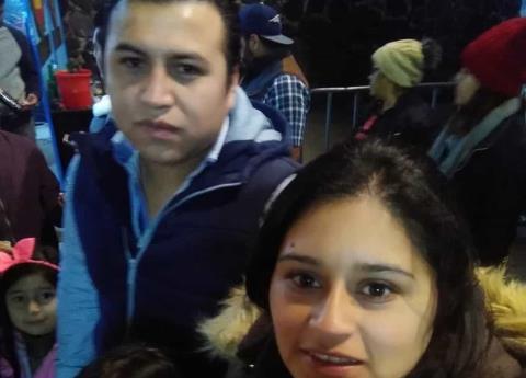 Veracruzana cae de rueda de la fortuna en Puebla