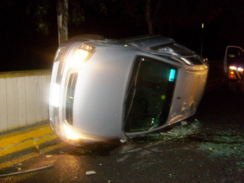 Incrementan accidentes automovilísticos por consumo de alcohol en diciembre