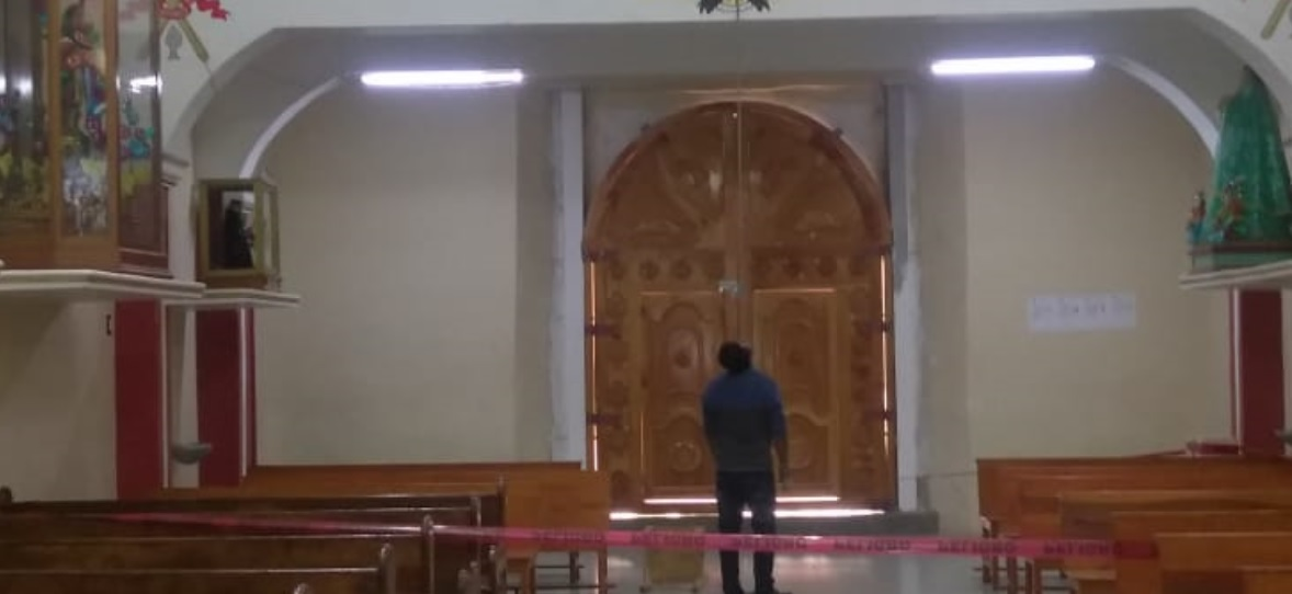 Sacristán se suicida en iglesia de San Andrés Tenejapan