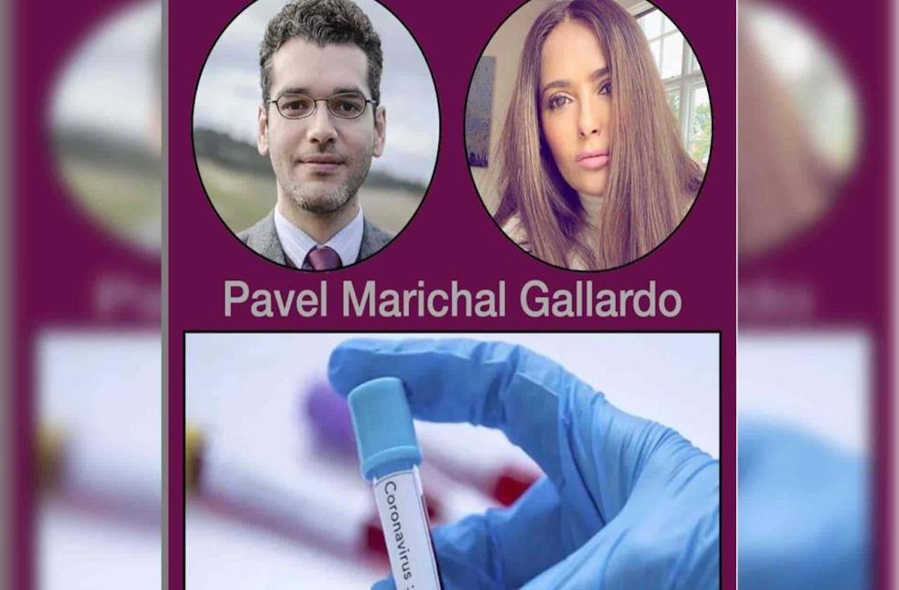 Salma felicita a veracruzano que trabaja en vacuna contra covid