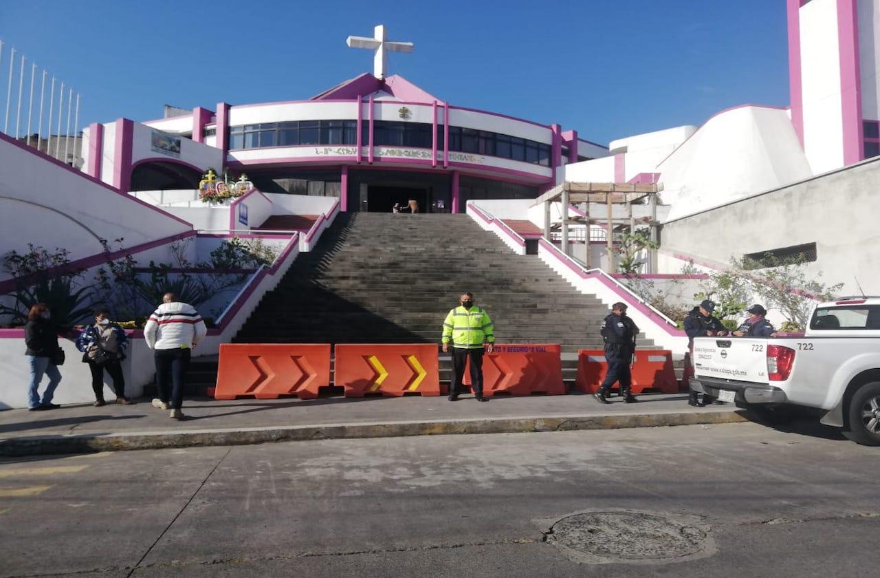 Salud reitera riesgo covid por visitar Basílica de Xalapa