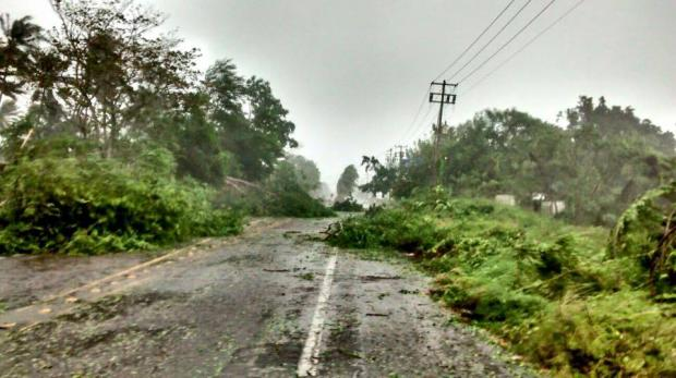 Ráfagas del huracán Patricia provocan daños en San Patricio, Jalisco