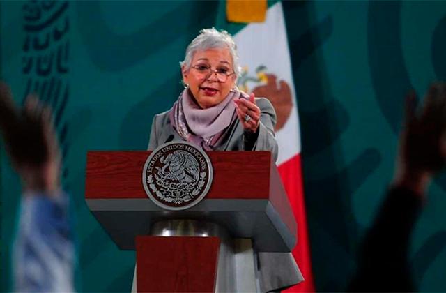 Sánchez Cordero no postulará a la Presidencia en 2024