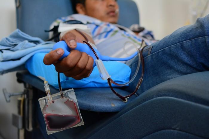 Cae Veracruz al lugar 25 a nivel nacional en donación de sangre