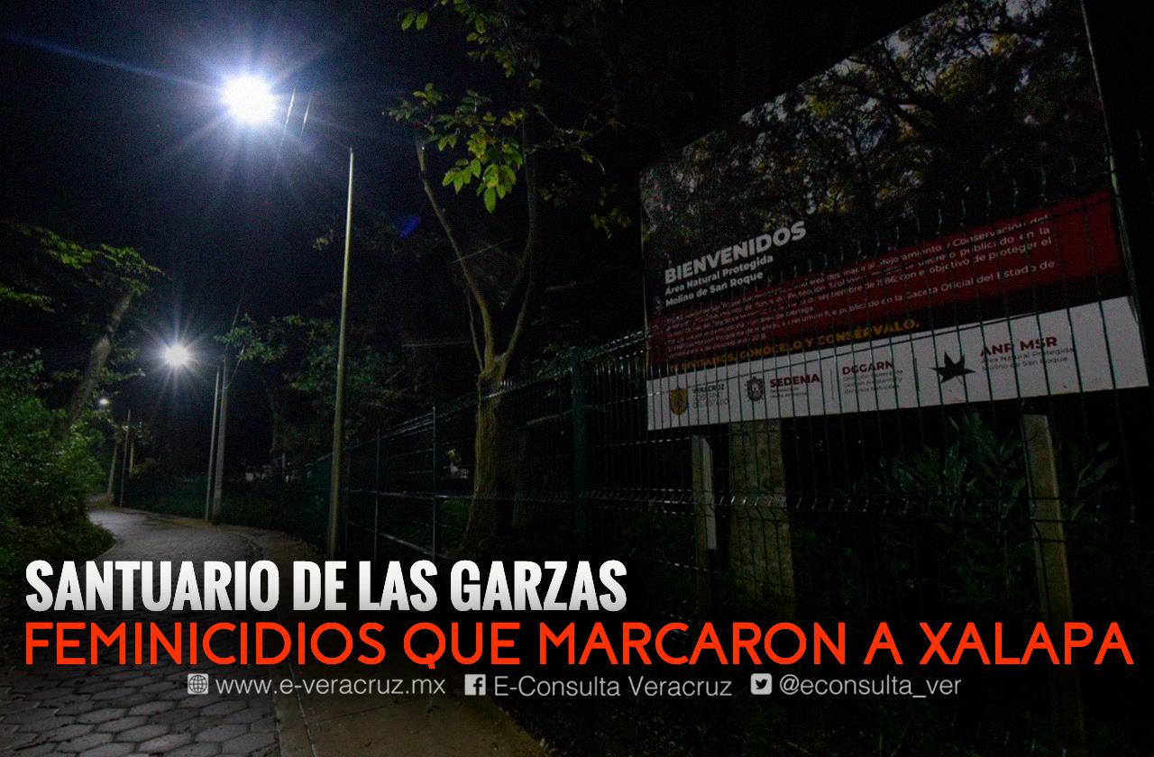 Santuario de las Garzas, lugar donde los feminicidios cimbraron Xalapa