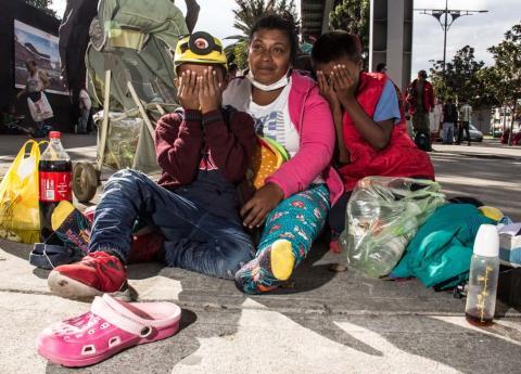 Migrantes centroamericanos dicen que México los ha tratado bien