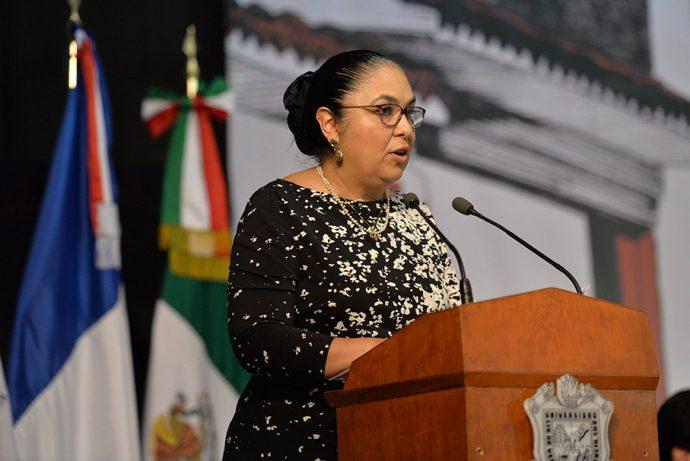 Rectora UV felicita a Cuitláhuac García por resultados de elección