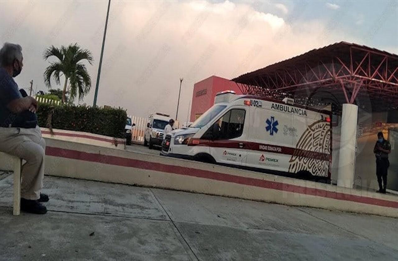 Saturan pabellón covid en hospital de Las Choapas