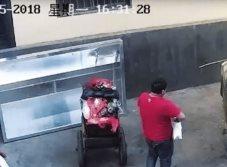 Tiran a recién nacida a la basura pero le salvan la vida