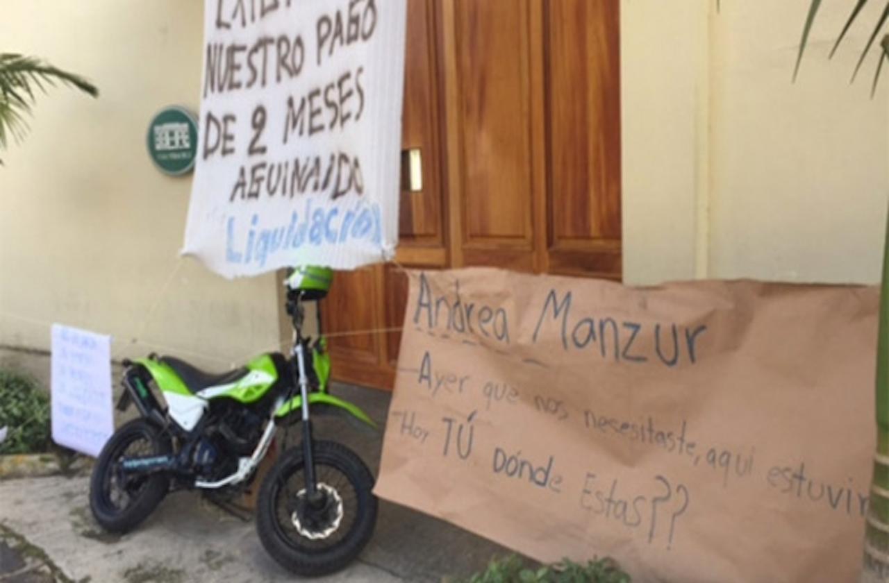 """Se ampara Andrea """"N"""", exadministradora de Casa Veracruz con Duarte"""
