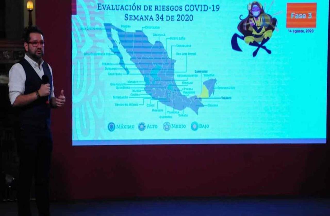 Se reduce riesgo por covid en Veracruz: SSA