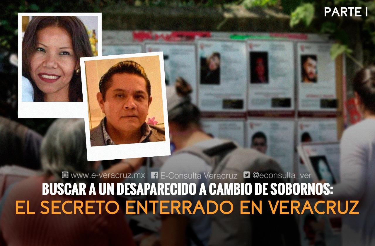 Fiscal Fabiola Melo extorsiona a Nallely Guarneros, familiar de desaparecidos.