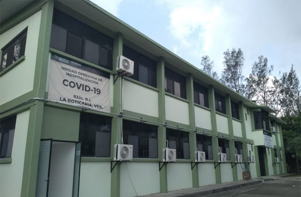 Sedena activa 3 hospitales militares en Veracruz ante covid
