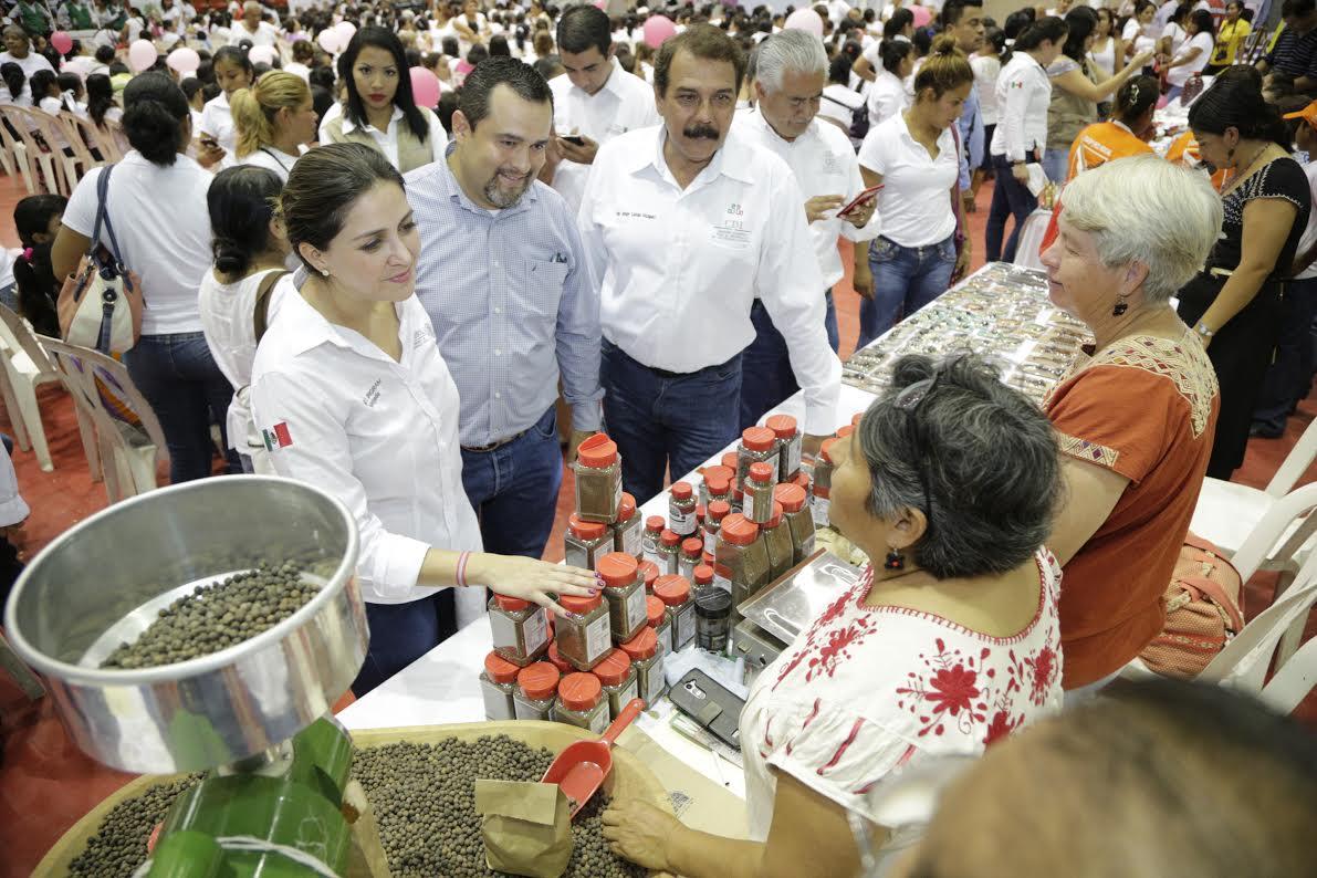 El esfuerzo del Gobierno de la República continua en apoyo a veracruzanos: Anilú Ingram