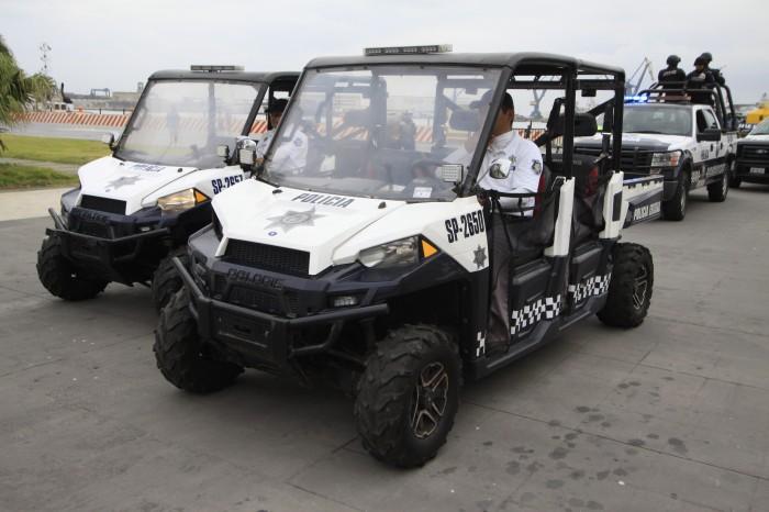 Se refuerza la seguridad en zonas turísticas: Yunes