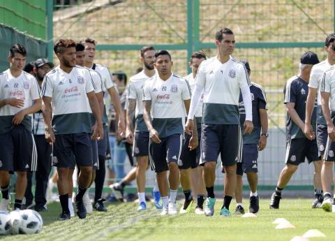 La Selección Mexicana ya está en Samara para jugar contra Brasil
