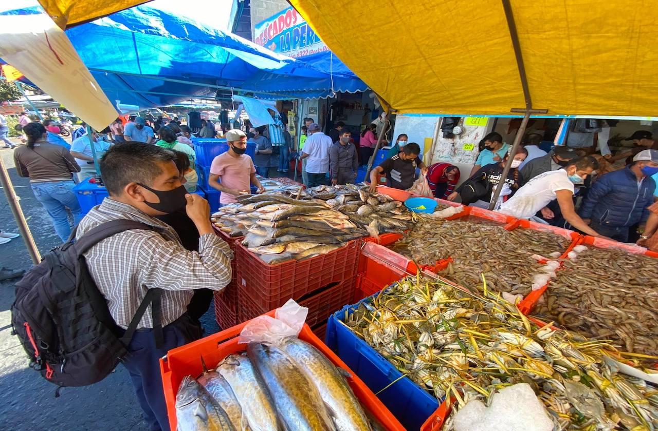 Semana Santa, la esperanza económica de pescaderías xalapeñas