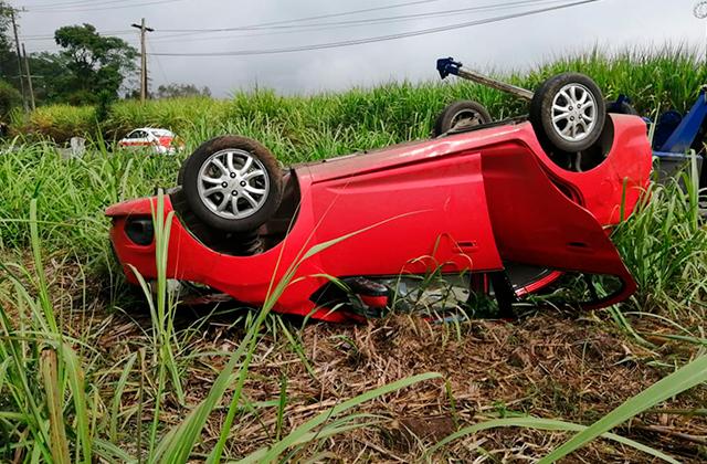Seminaristas se accidentan en la carretera  Córdoba – San José Neria