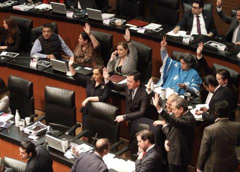 Sin cambios, Ley de Ingresos 2019 es remitida del Senado al ejecutivo