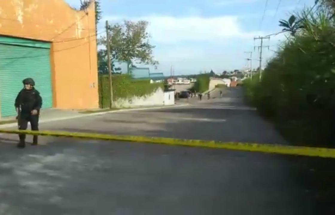 Balacera en Xalapa cerca de la SEV, un herido