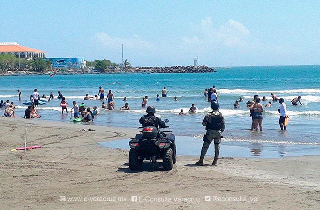 Sigue estos 5 tips para nadar seguro en las playas de Veracruz