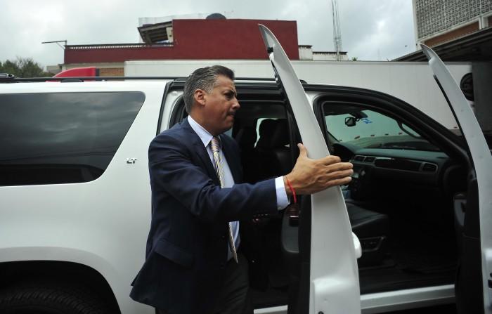 Alberto Silva no ha sido notificado de desafuero en su contra