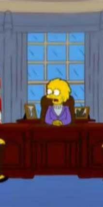 Los Simpson predicen que Trump será presidente