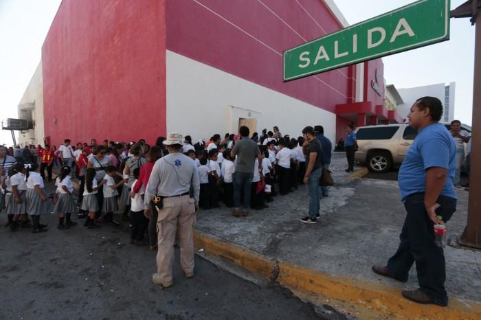 Harán simulacros por sismo en escuelas la próxima semana