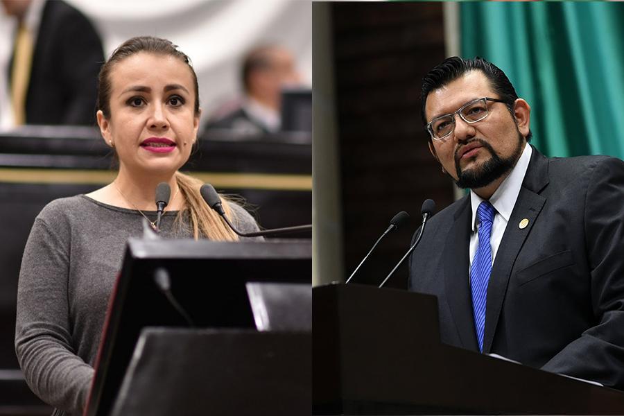 Por apoyar a Morena, exilian a dos diputados del PAN