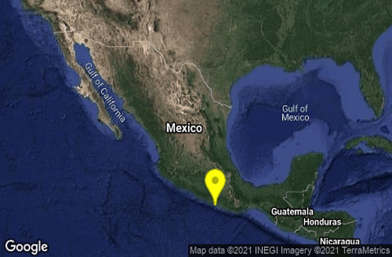 Sismo de Guerrero se percibió en Veracruz; no hay afectaciones