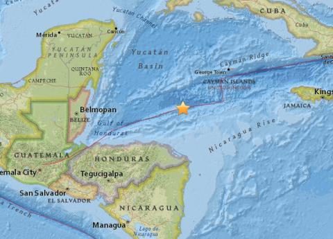 Sismo de 7.6 grados en Honduras, hay alerta de tsunami para México