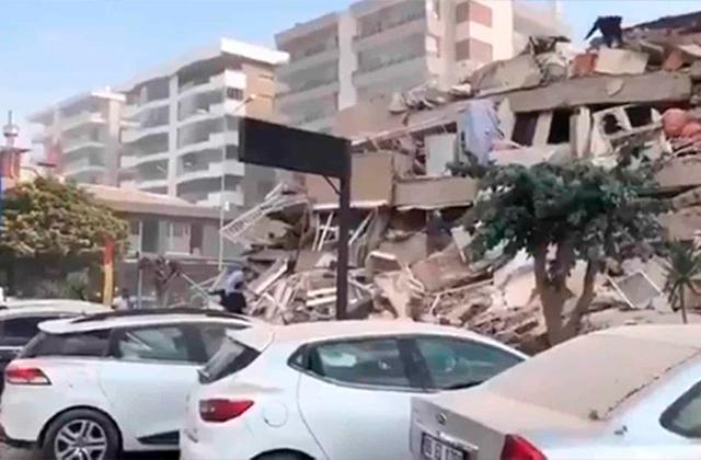 Impresionante, así luce Turquía tras poderoso sismo y tsunami