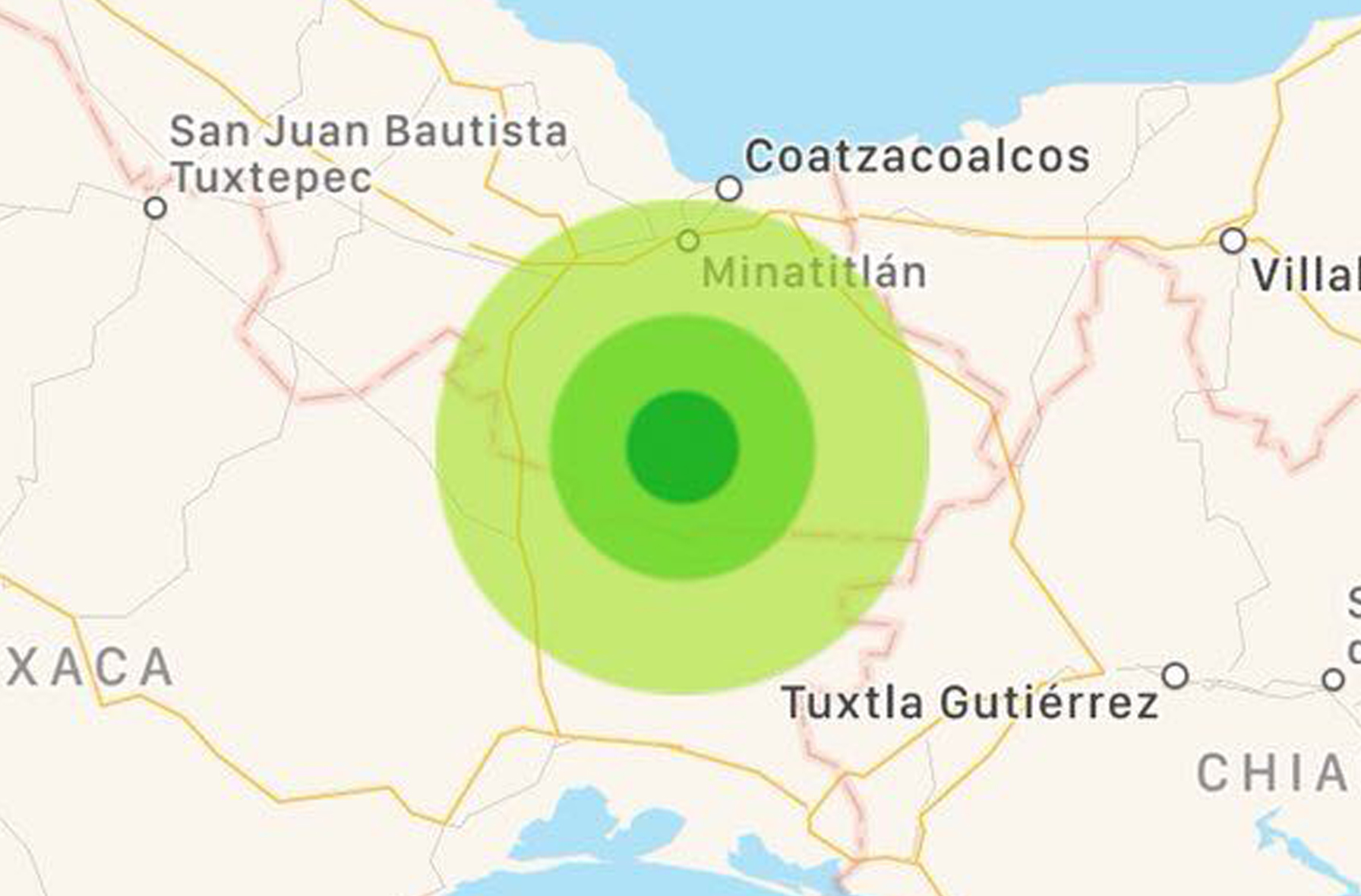 Sismológico reporta sismo de 4.3 en Jáltipan, Veracruz