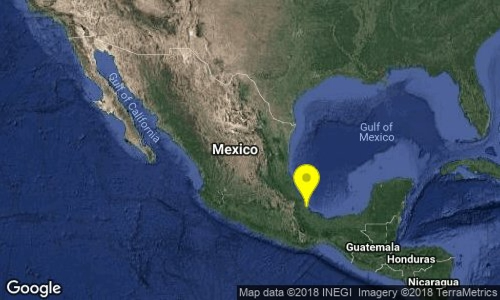 No hay daños tras sismo de 4.3 en Veracruz-Boca del Río