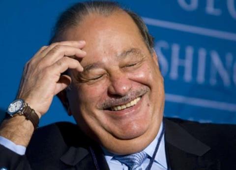 Celebridades presumen fotos en el cumpleaños de Carlos Slim