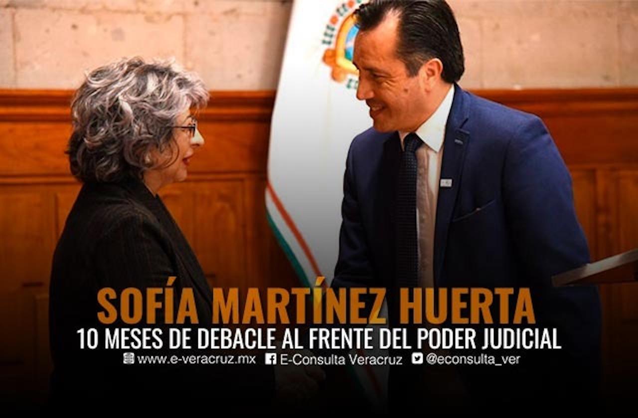 Sofía Huerta: Presidencia efímera en el Poder Judicial de Veracruz