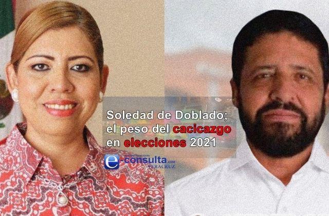 Elecciones 2021, pintadas de cacicazgo en Soledad de Doblado