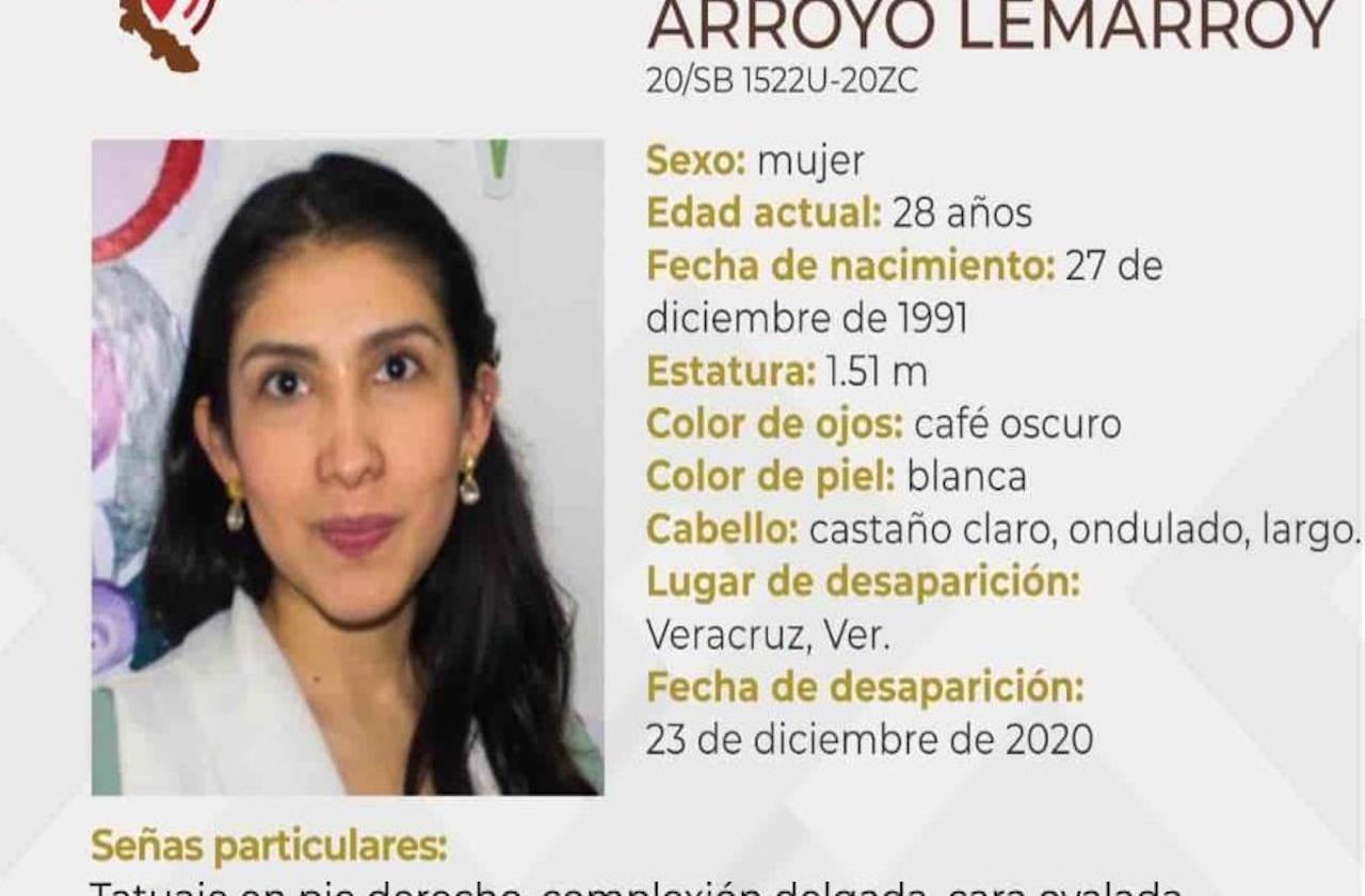 Solicitan apoyo para localizar a Samara en Veracruz puerto