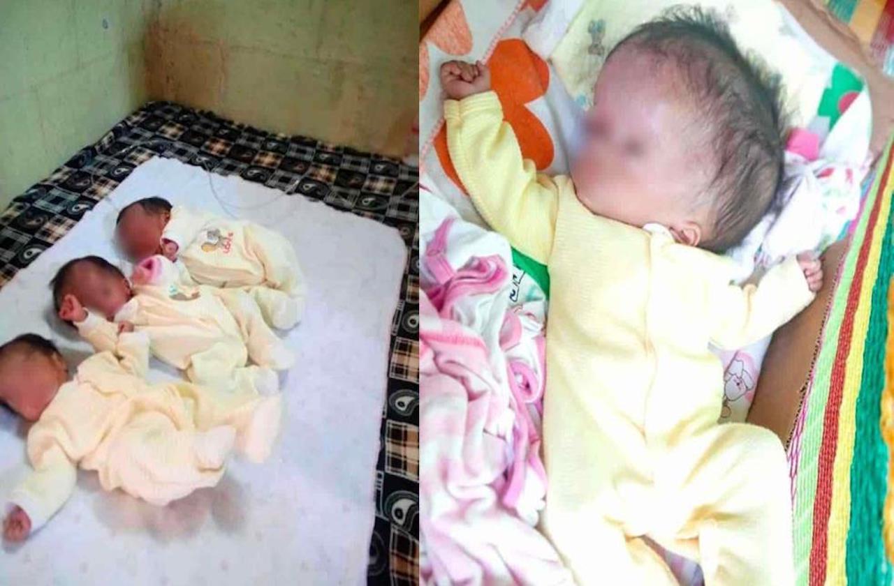 Sorprende nacimiento de trillizas en Tezonapa
